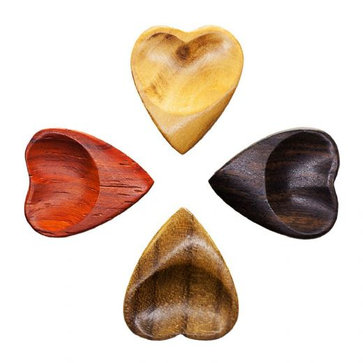 Heart Tones Mixed Pack of 4 Guitar Picks